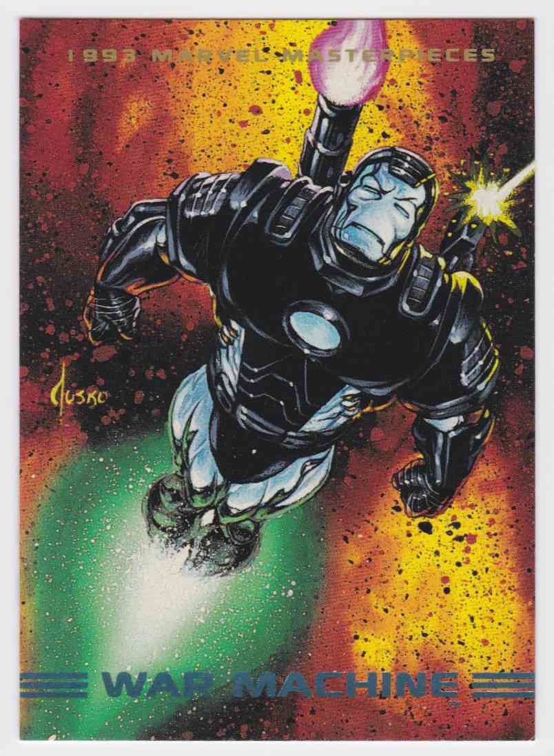 1993 Marvel MasterPieces War Machine #69 card front image