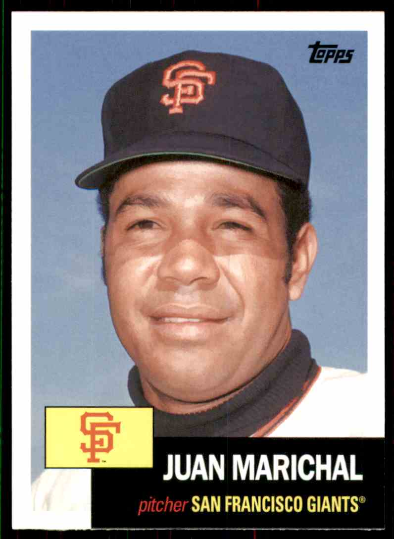 2016 Topps Archives Juan Marichal #20 card front image