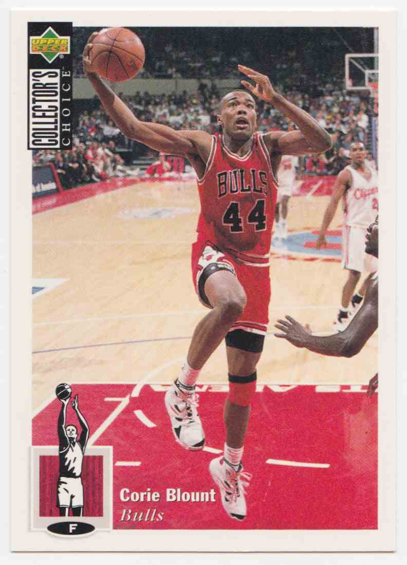 1994-95 Upper Deck Collector's Choice Base Corie Blount #29 card front image