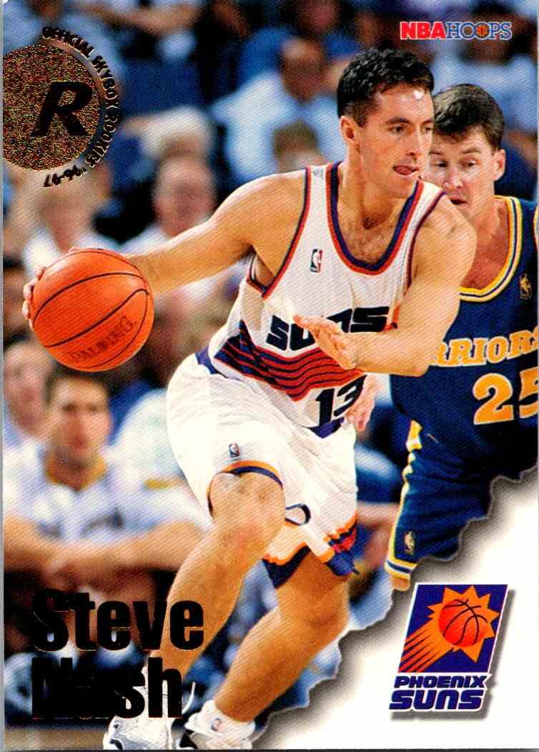 1997-98 NBA Hoops Steve Nash #304 card front image