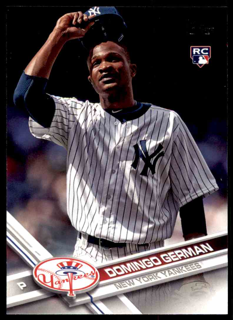 2017 Topps Update Domingo German #US2 card front image