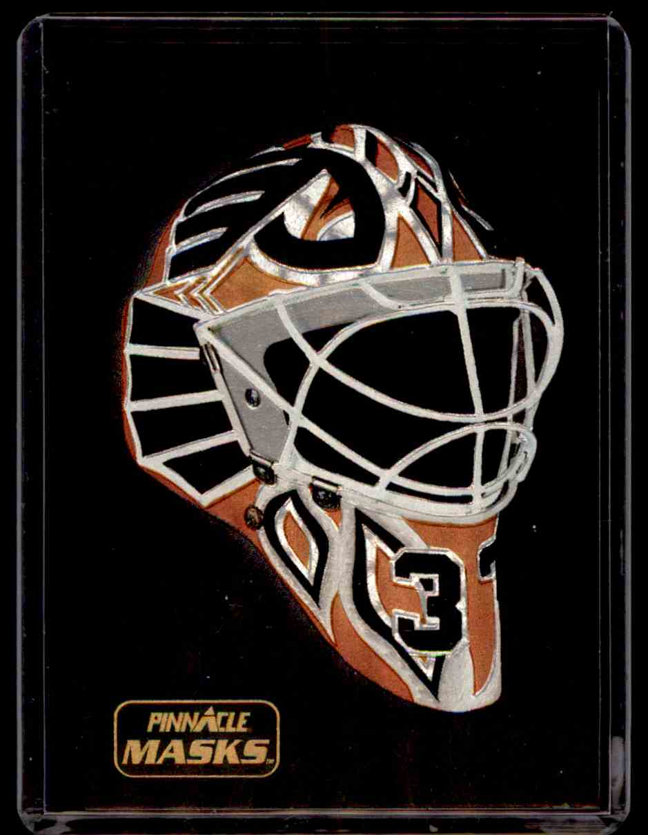 1993-94 Pinnacle Masks Dominic Roussel #4 card front image