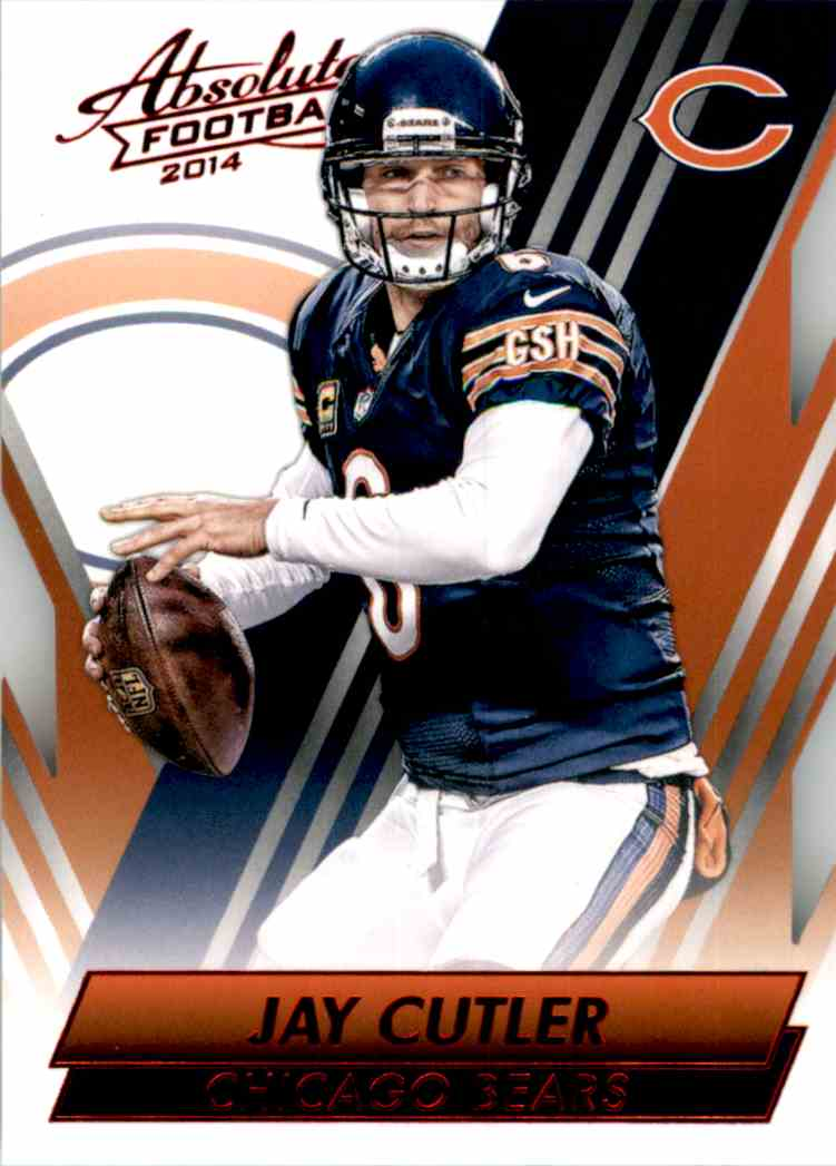 2014 Absolute Retail Red Jay Cutler #83 card front image