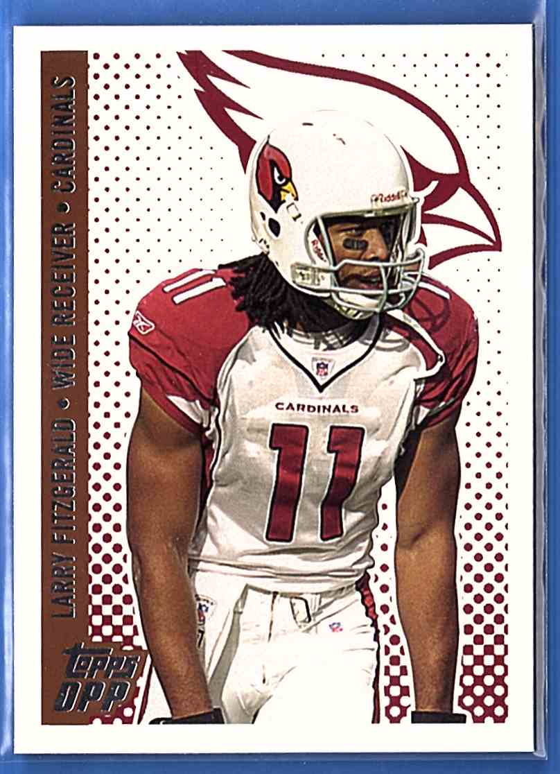 2006 Topps Draft Picks And Prospects Larry Fitzgerald #12 card front image
