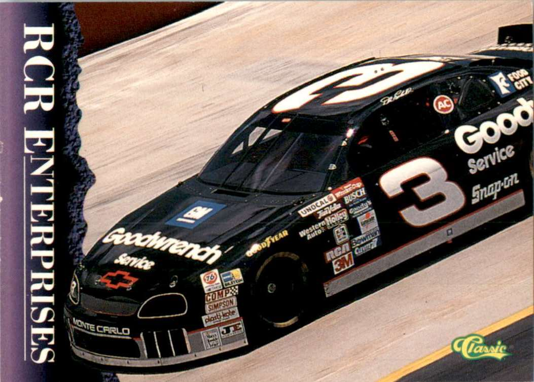 1996 Classic Dale Earnhardt's Car #32 card front image