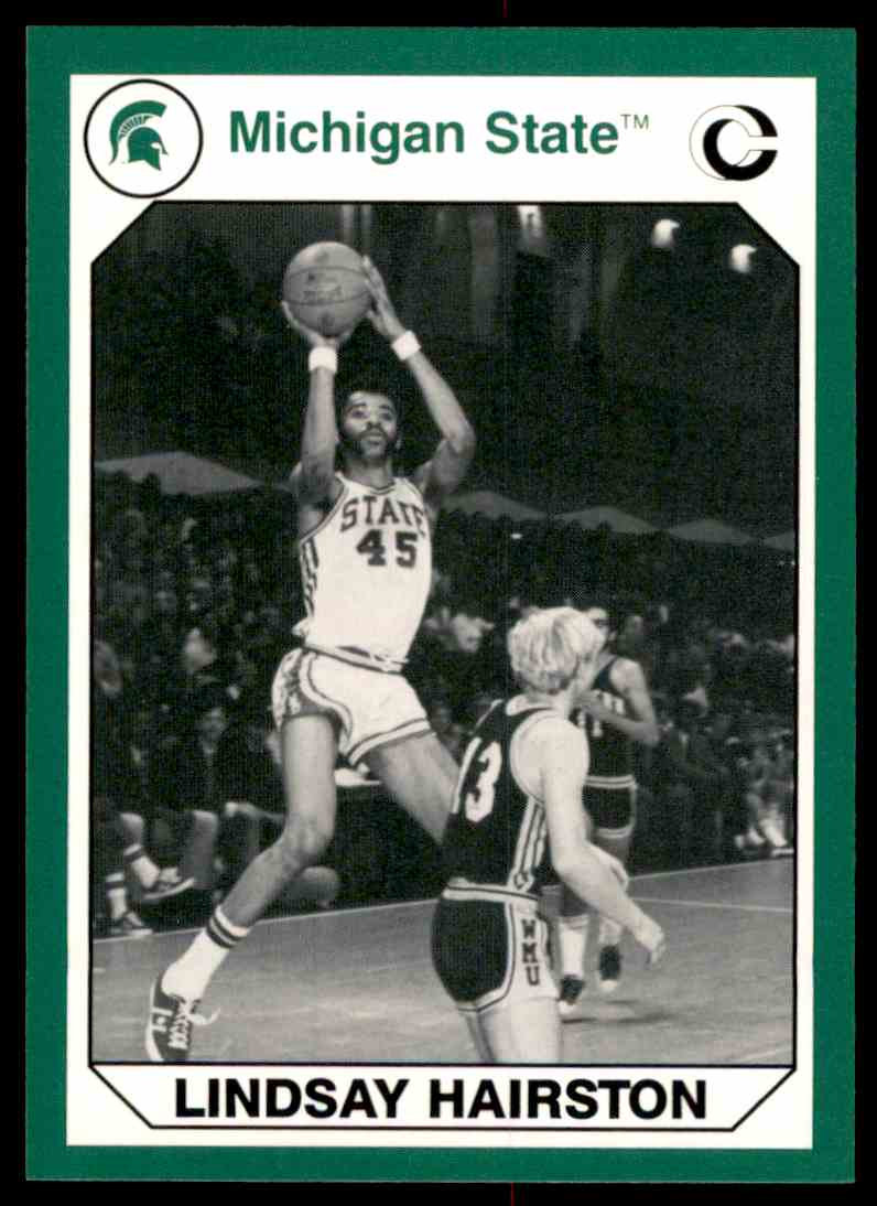 1990-91 Michigan State Collegiate Collection 200 Lindsay Hairston #118 card front image