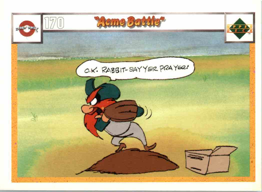 1990 Upper Deck Looney Tunes Acme Battle #170-173 card front image