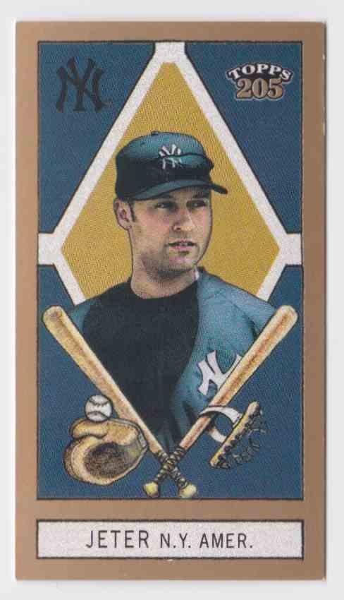 2003 Topps T205 Sovereign Derek Jeter #75 card front image