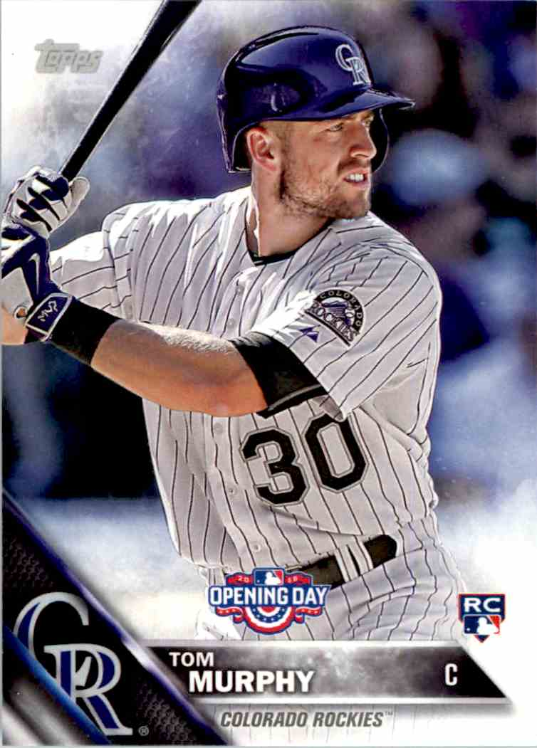 2016 Topps Opening Day Tom Murphy RC #OD-16 card front image