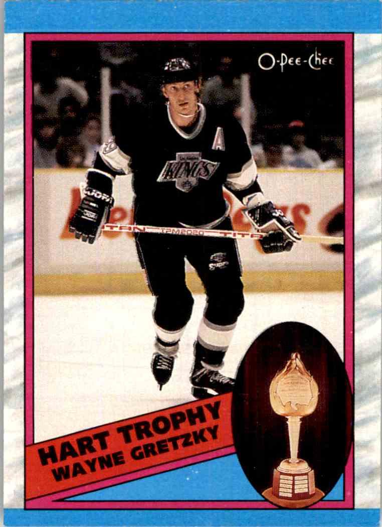 1989-90 O-Pee-Chee Wayne Gretzky #320 card front image