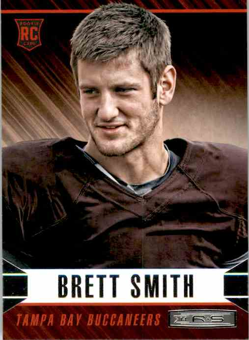 2014 Rookies And Stars Brett Smith RC #114 card front image