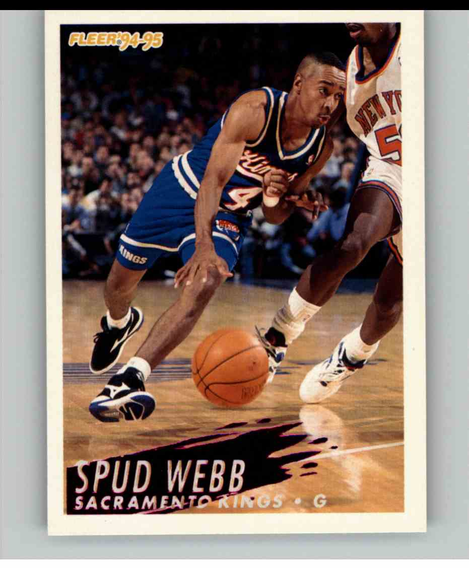 1994-95 Fleer Spud Webb #198 card front image