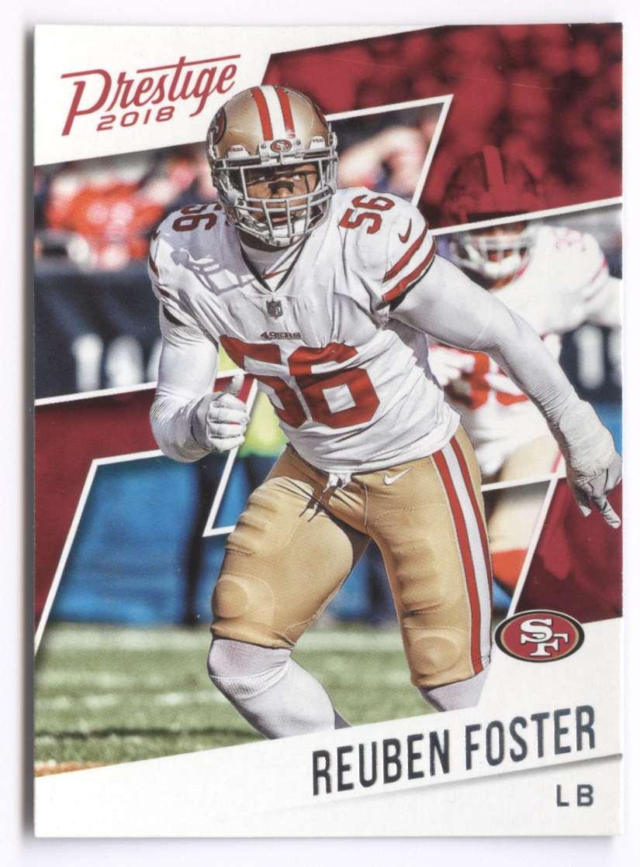 2018 Panini Prestige Reuben Foster #3 card front image