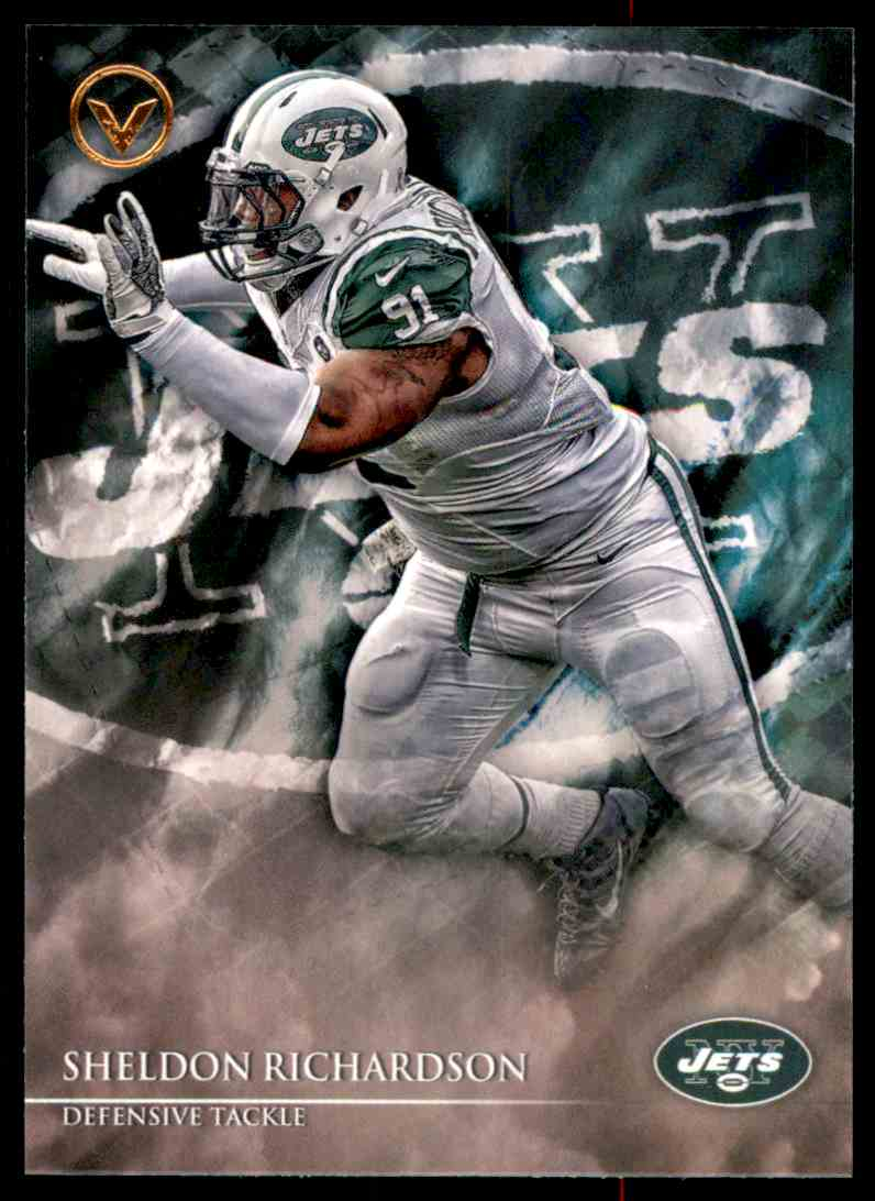 2014 Topps Valor Sheldon Richardson #195 card front image