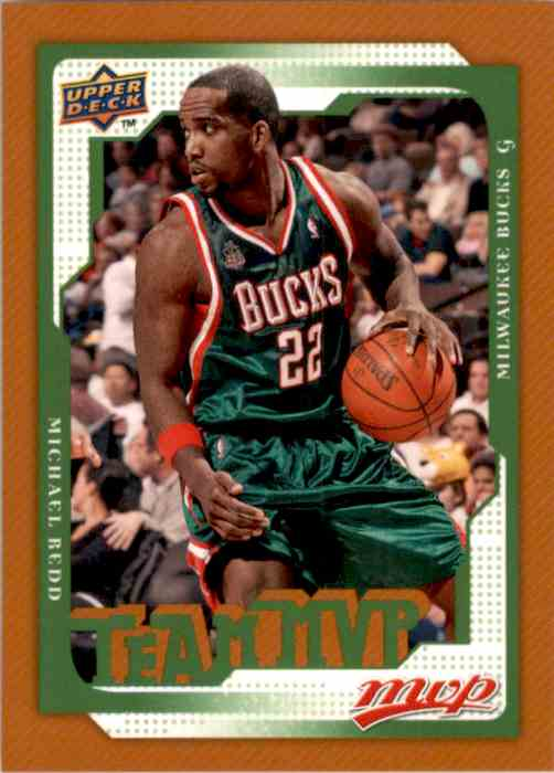 2008-09 Upper Deck MVP Michael Redd #185 card front image
