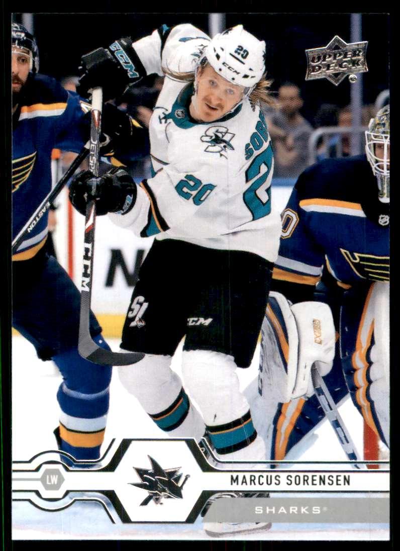 2019-20 Upper Deck Marcus Sorensen #164 card front image
