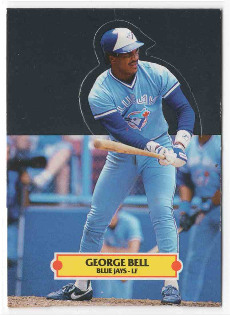1988 Donruss Pop-Ups George Bell #6 card front image