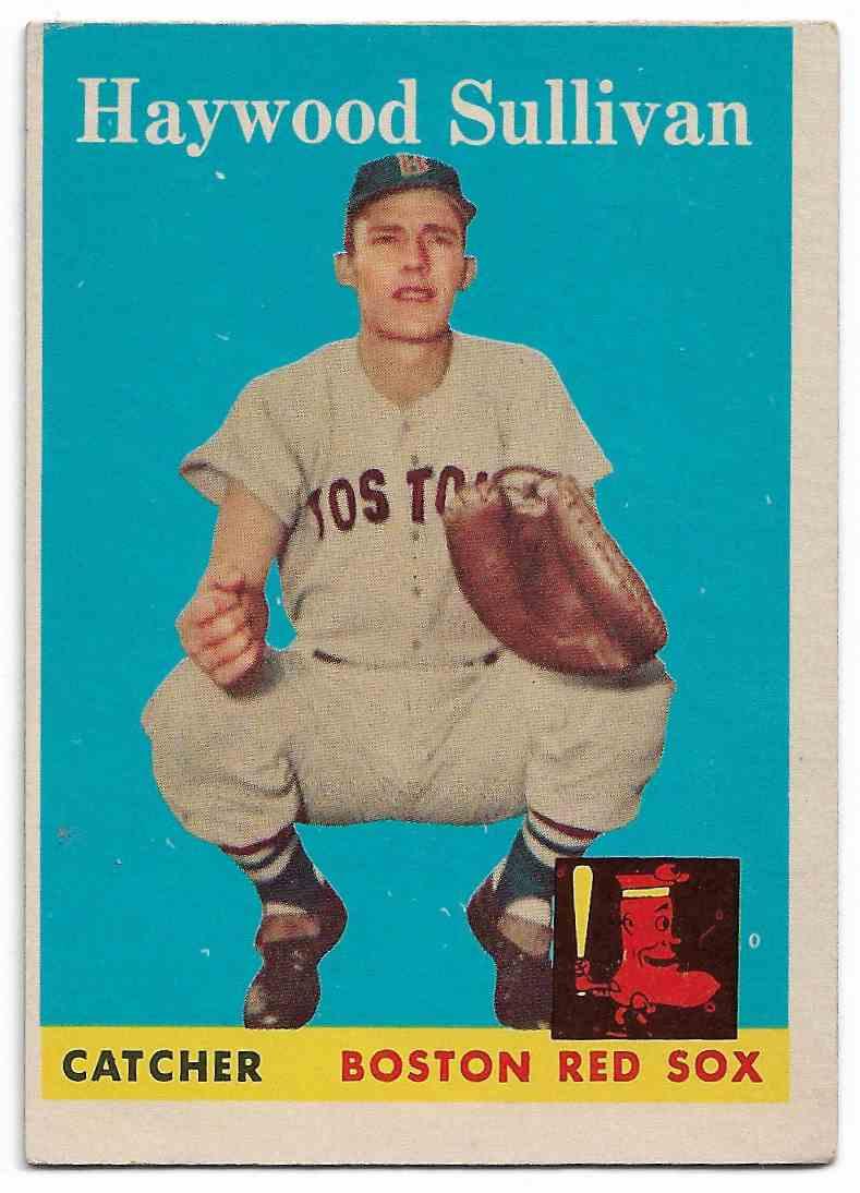 1958 Topps Haywood Sullivan #197 card front image