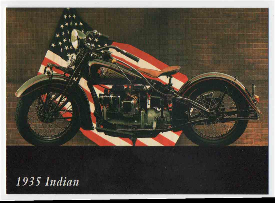 1993 InLine 1935 Indian #47 card front image