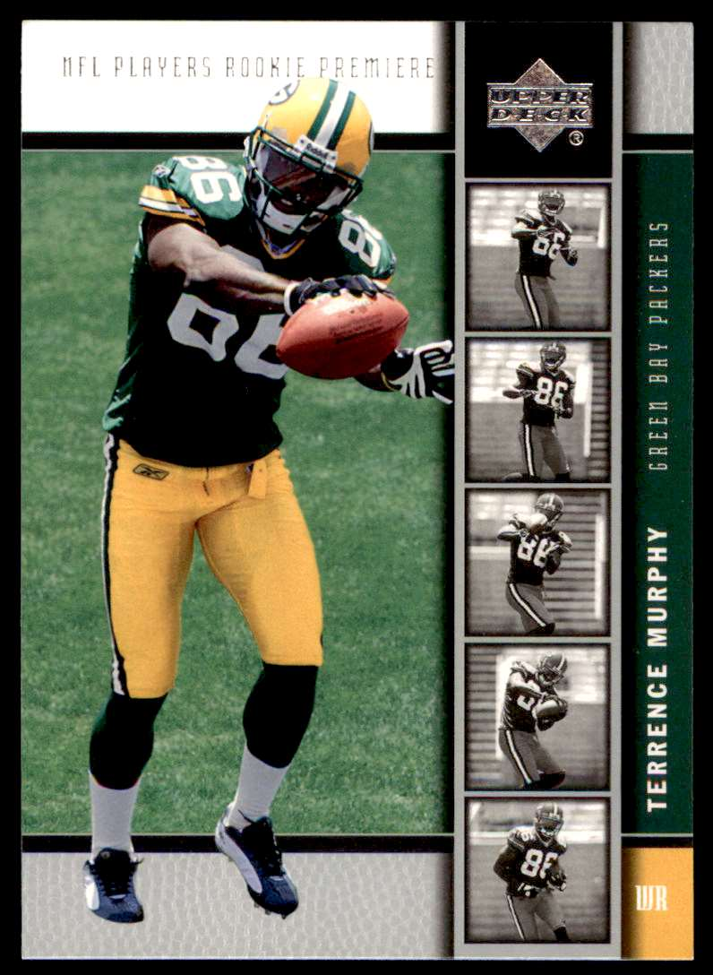 2005 Upper Deck Rookie Premiere Terrence Murphy #25 card front image