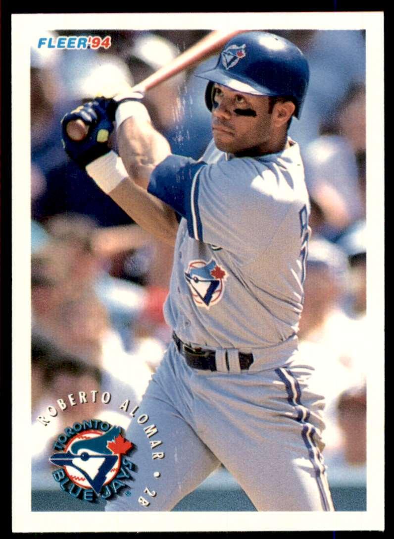 1994 Fleer Sunoco Roberto Alomar #1 card front image