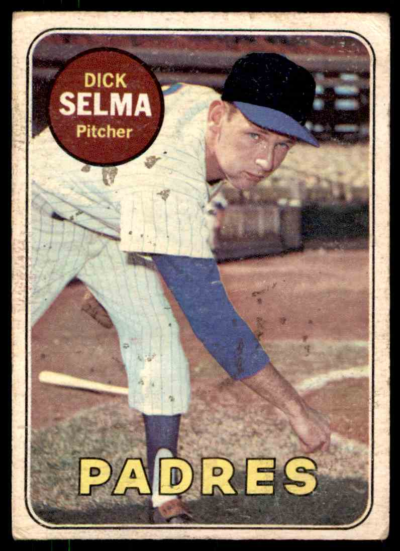 1969 Topps Dick Selma #197 card front image