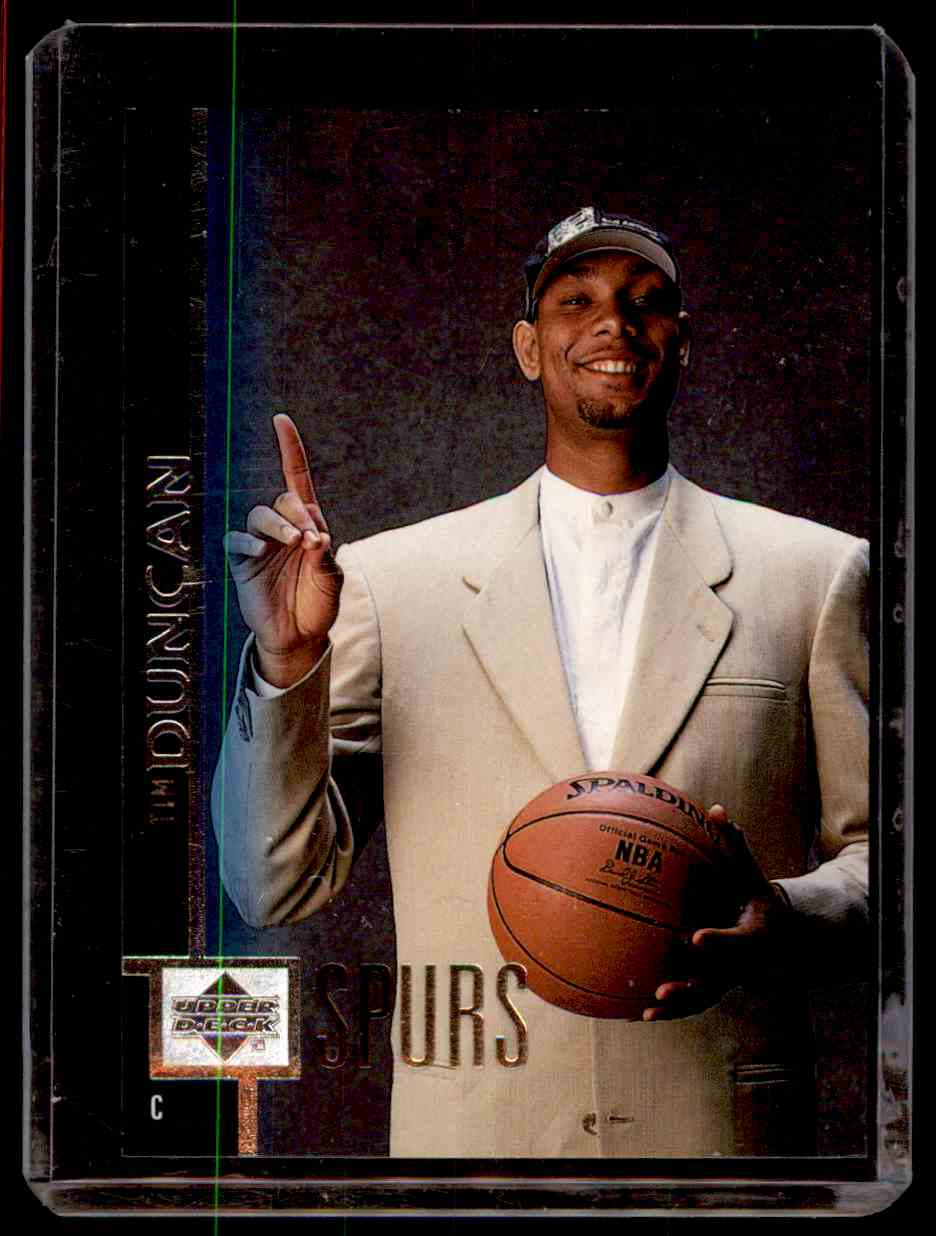 1997-98 Upper Deck Tim Duncan #114 card front image