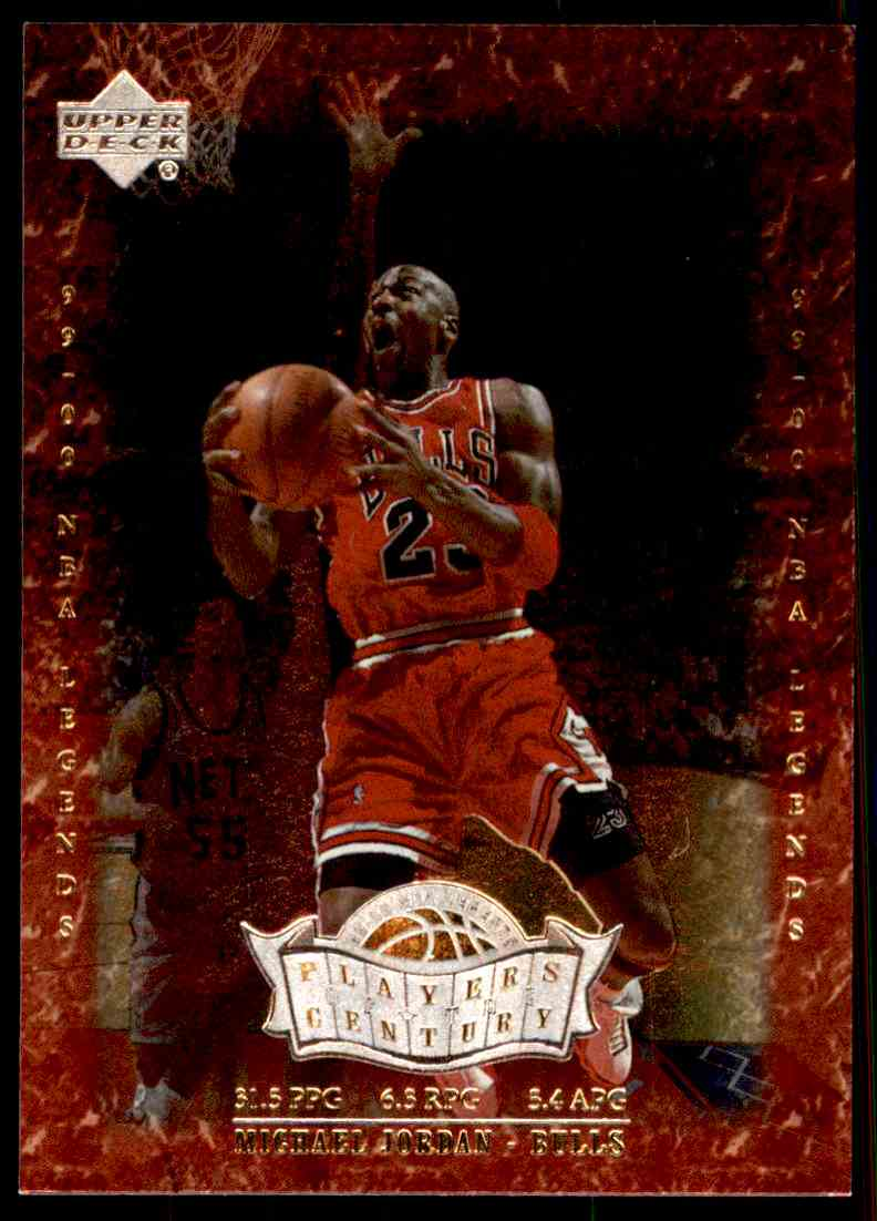 best website fd782 13fcc 2000-01 Upper Deck Century Legends Players Of The Century Michael Jordan  P1  card