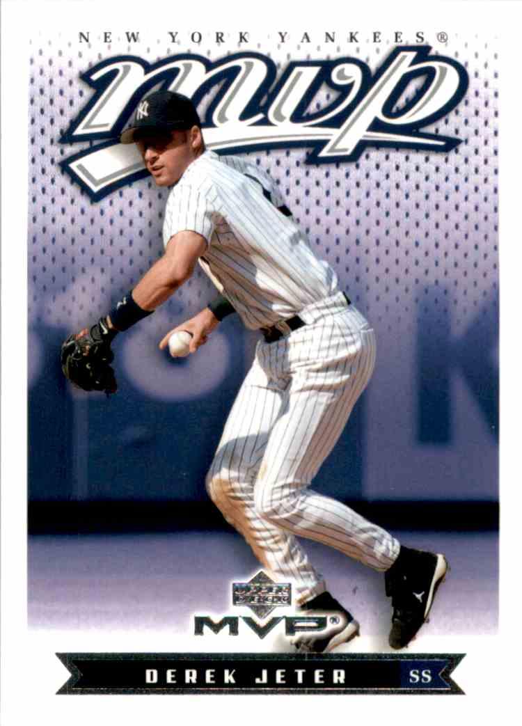 2003 Upper Deck MVP Derek Jeter #135 card front image