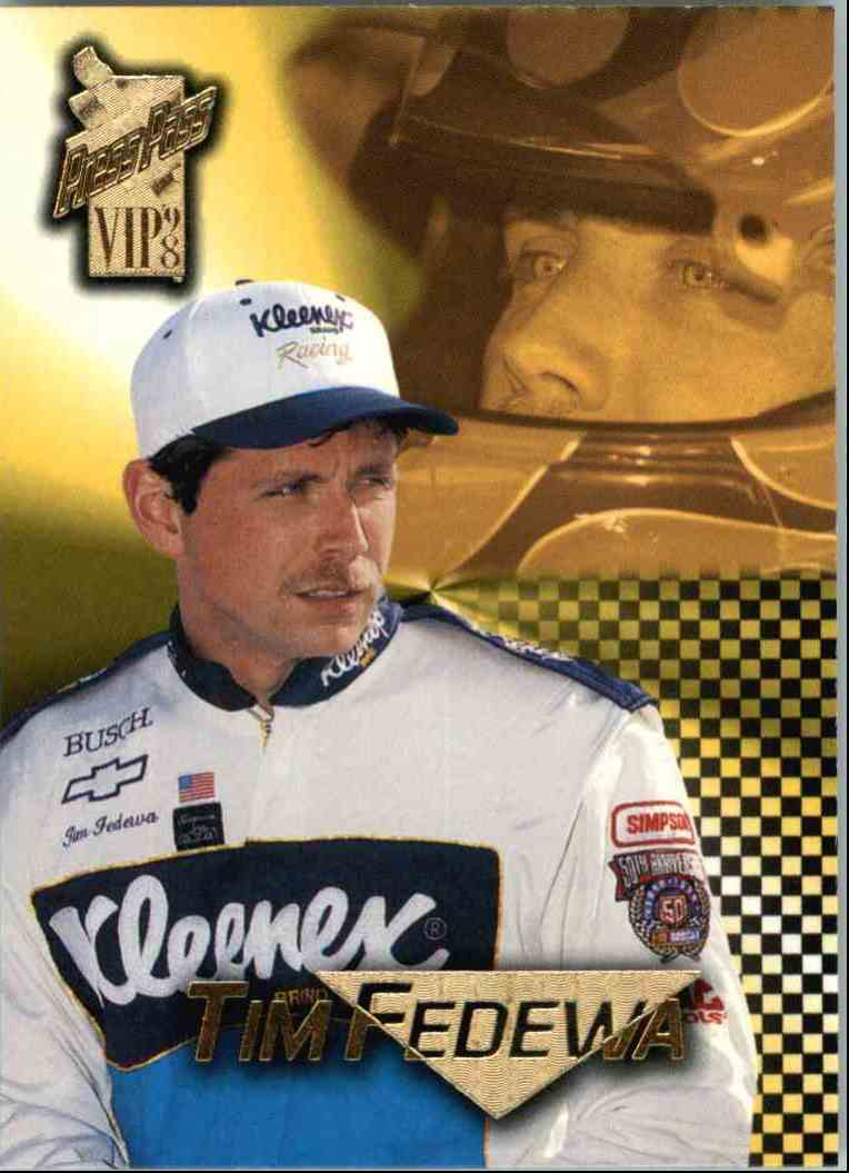 1998 Press Pass Vip Tim Fedewa #29 card front image