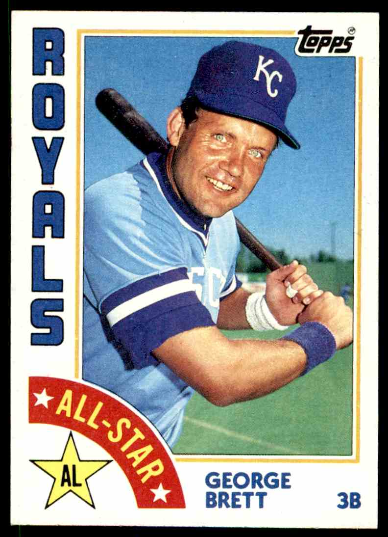 1984 Topps George Brett #399 card front image