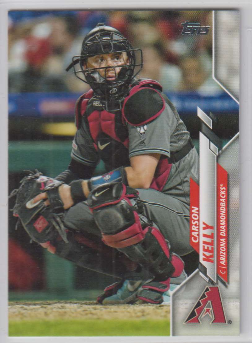 2020 Topps Carson Kelly #343 card front image