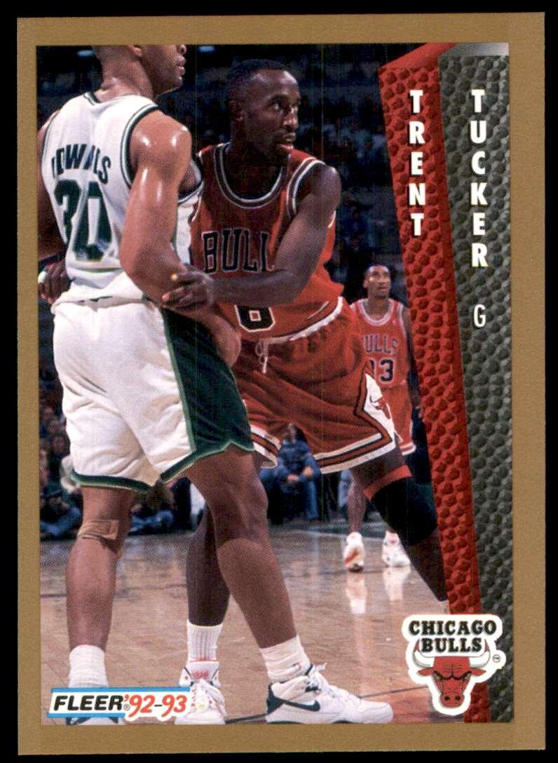 1992-93 Fleer Trent Tucker #315 card front image