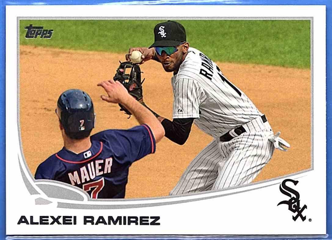 2013 Topps Alexei Ramirez #395 card front image