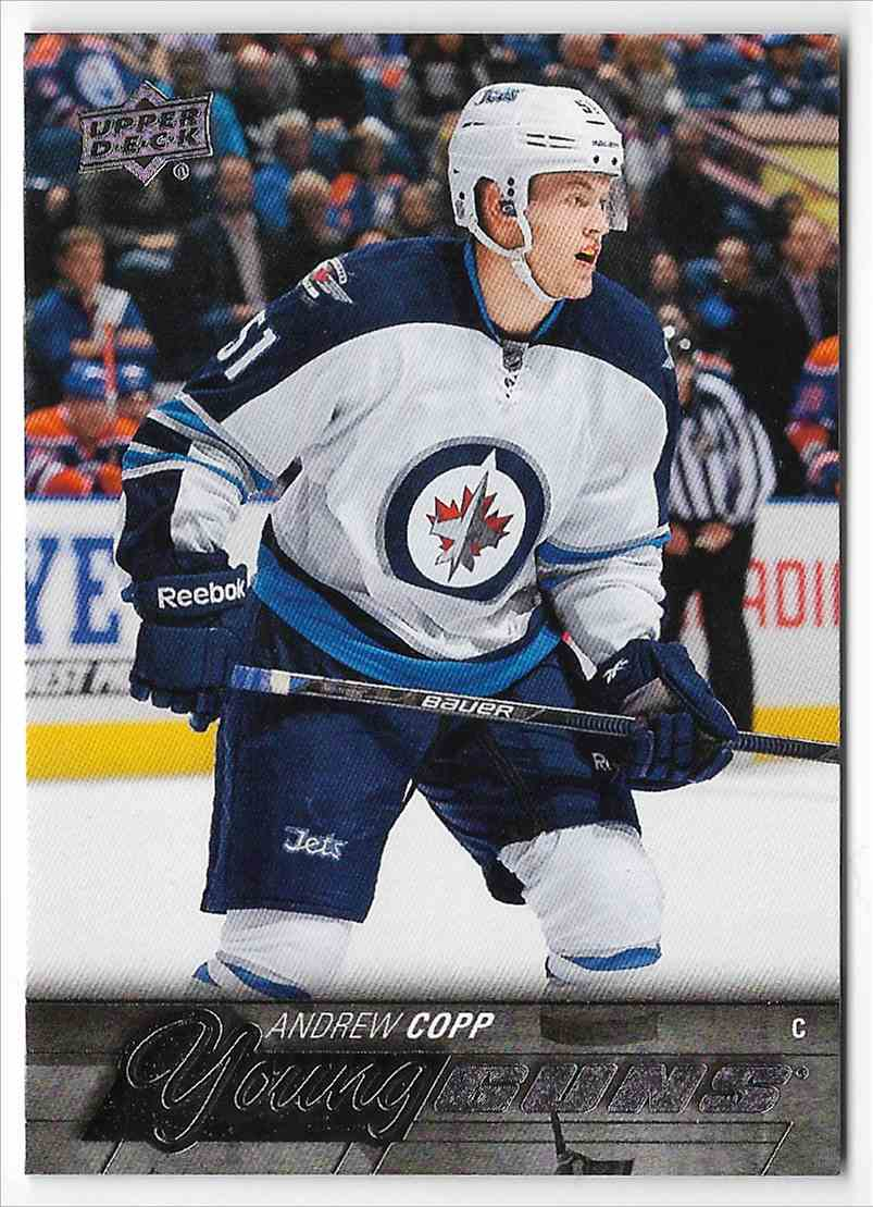2015-16 Upper Deck Andrew Copp #205 card front image