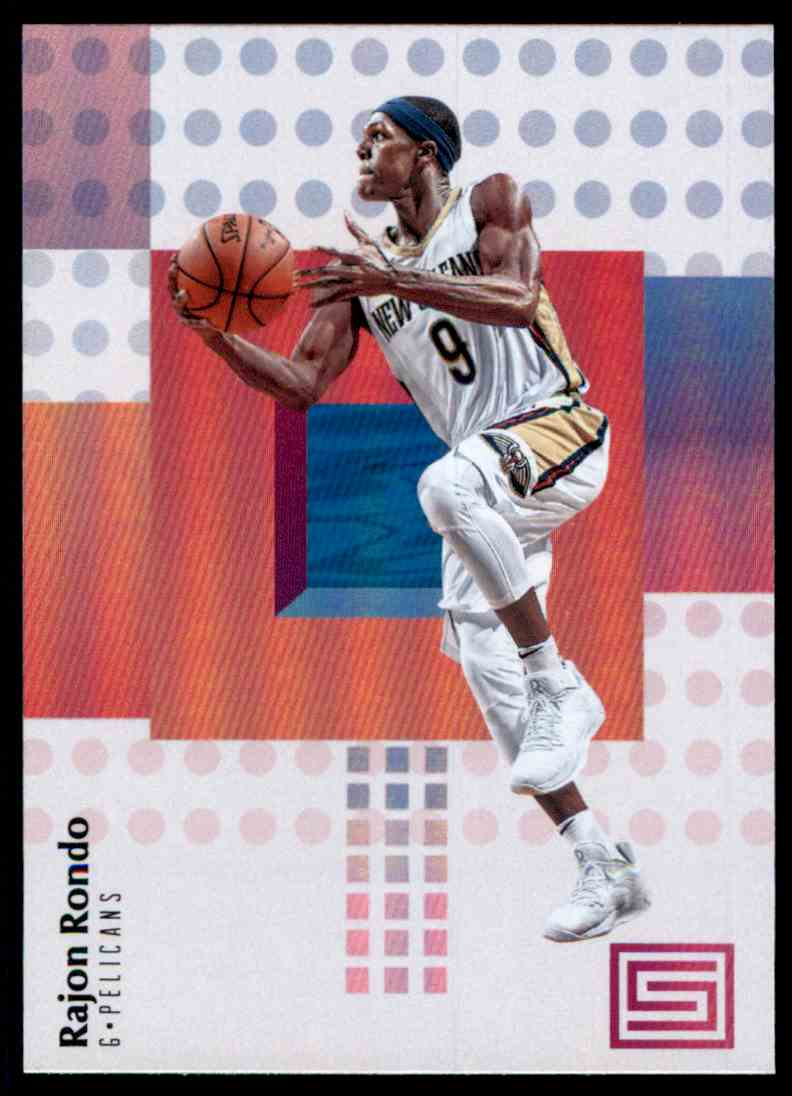 2017-18 Panini Status Rajon Rondo #54 card front image