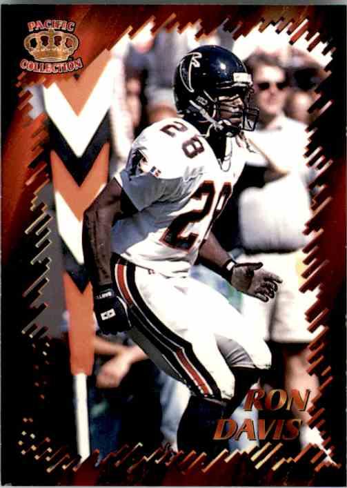 1996 Pacific Dynagon Best Kept Secrets Ron Davis #5 card front image