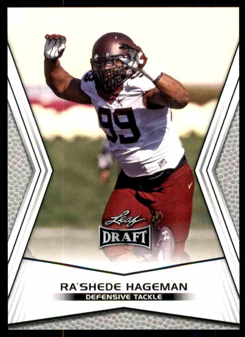 2014 Leaf Draft Shaquelle Evans #76 card front image