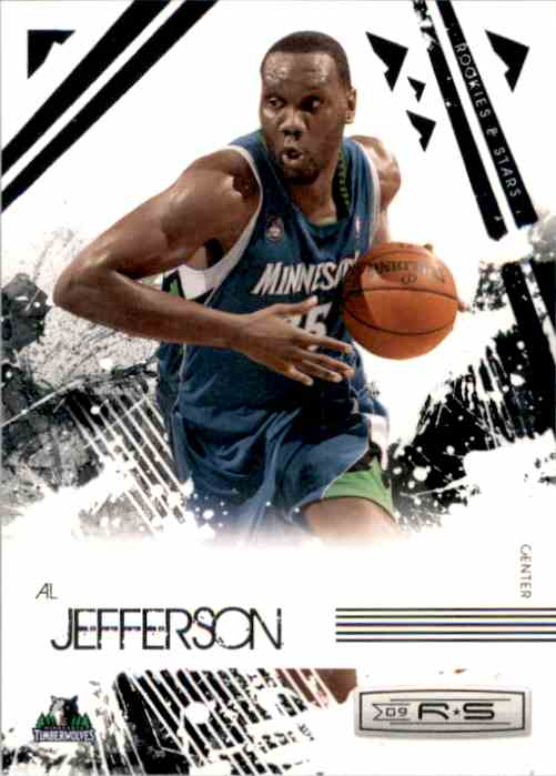 2009-10 Rookies And Stars Al Jefferson #54 card front image