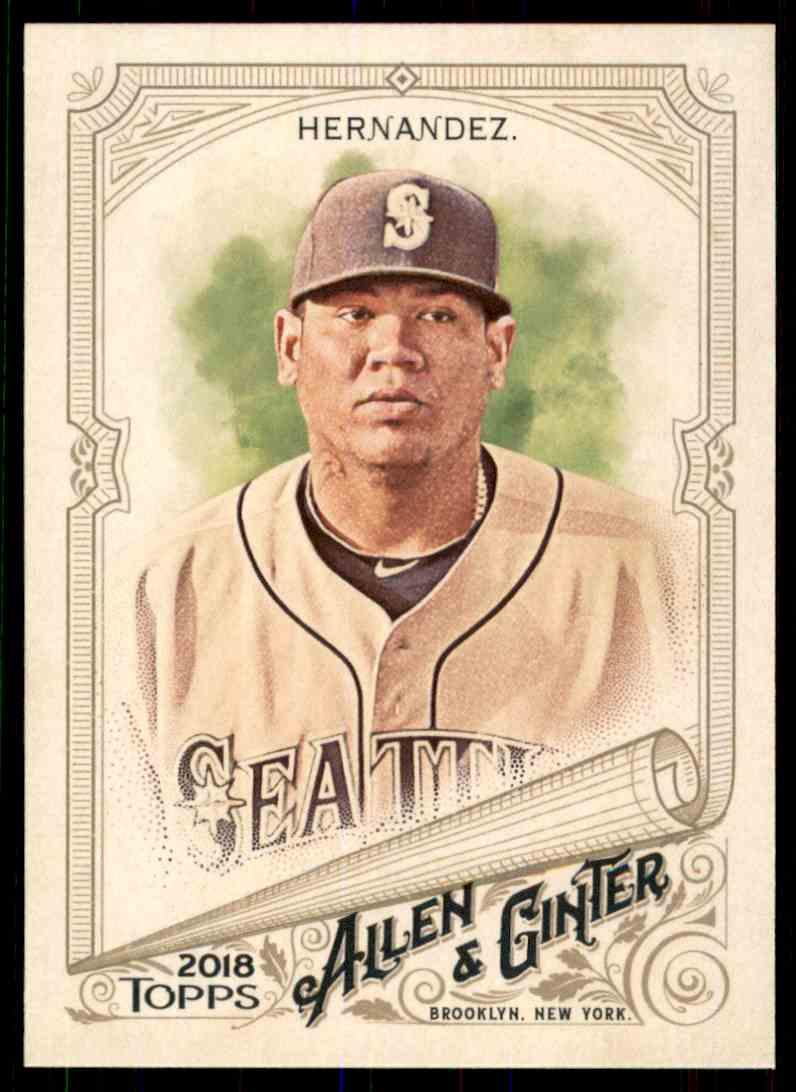 2018 Topps Allen & Ginter Felix Hernandez #262 card front image
