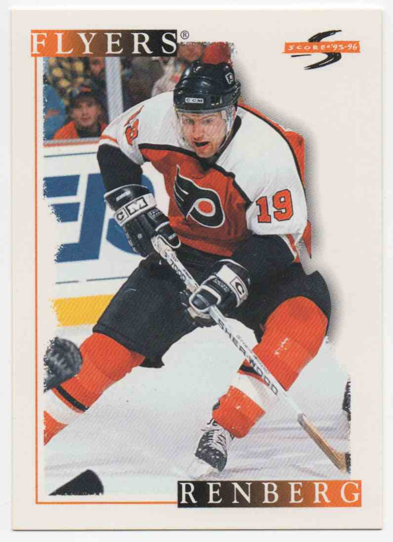 1995-96 Score Mikael Renberg #35 card front image