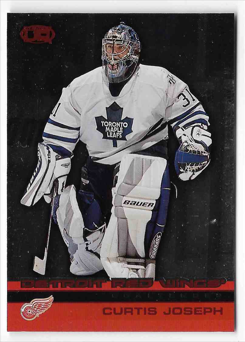 2002-03 Pacific Heads Up Curtis Joseph #44 card front image
