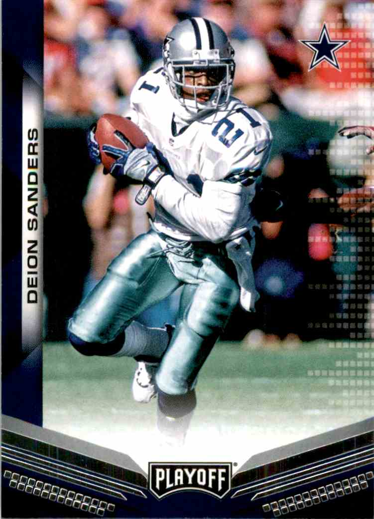 2019 Playoff Deion Sanders #195 card front image