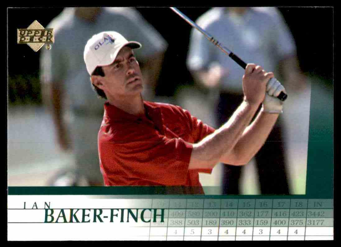 2001 Upper Deck Ian Baker-Finch #4 card front image