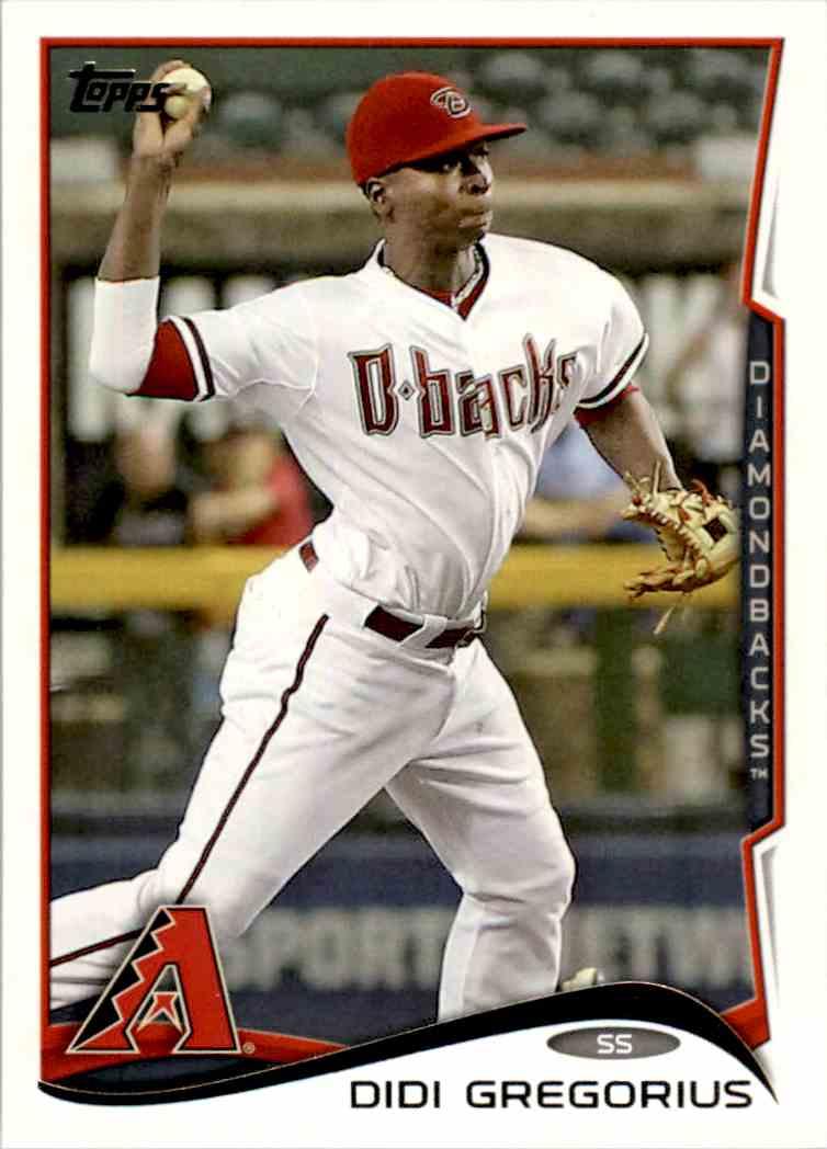 2014 Topps DIDI Gregorius #562 card front image