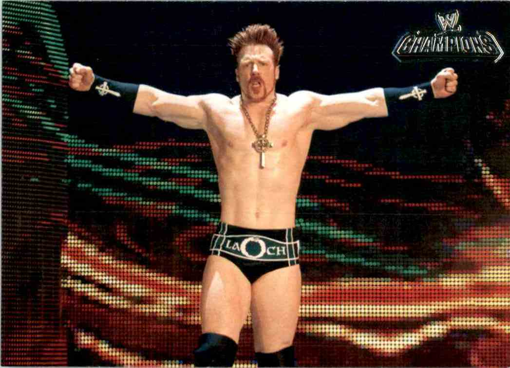 2011 Topps Wwe Champions Sheamus #9 card front image