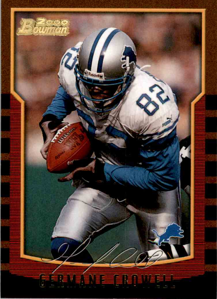 2000 Bowman Germane Crowell #13 card front image