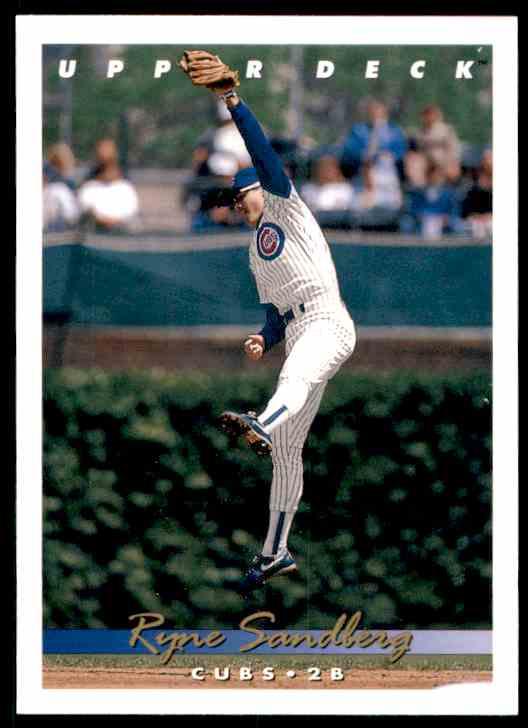 1993 Upper Deck Ryne Sandberg #175 card front image