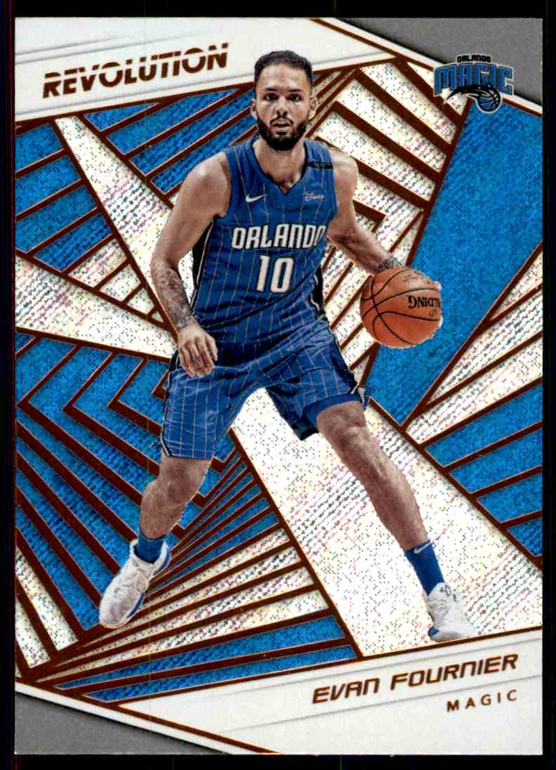 2018-19 Panini Revolution Base Evan Fournier #93 card front image