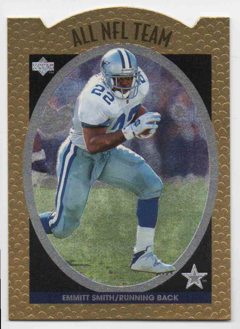 1996 Upper Deck All NFL Team Emmitt Smith #9 card front image